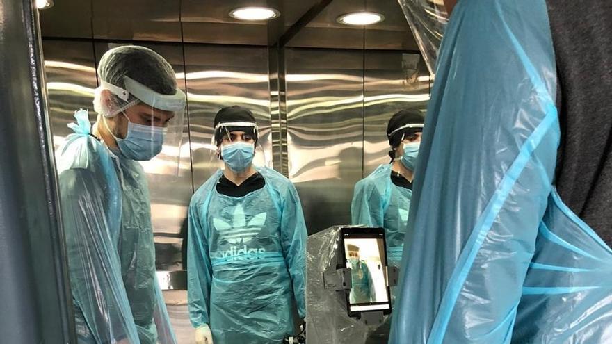 Chile crea un robot para asistir la salud mental de pacientes con COVID-19