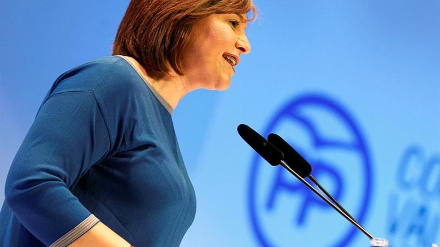 La líder del PP valenciano Isabel Bonig
