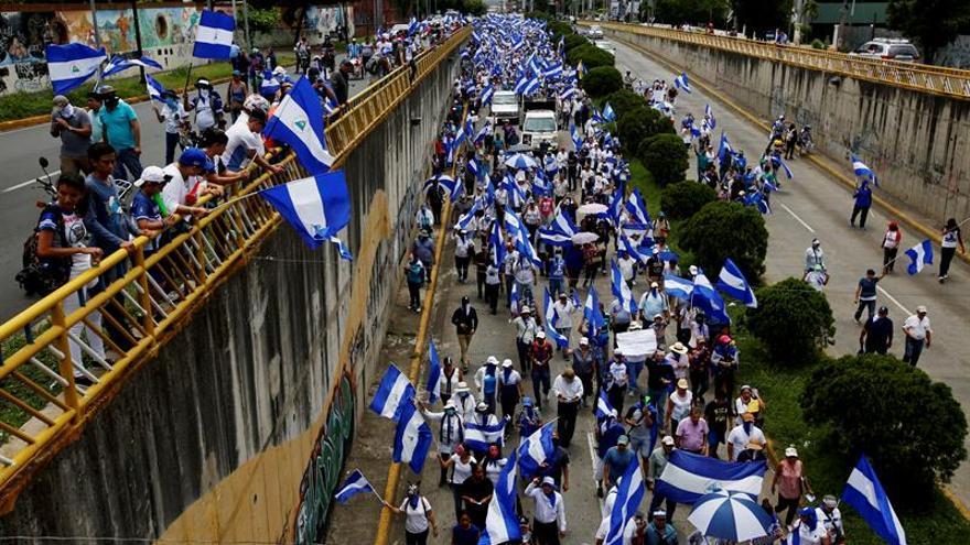 """Citan a marcha por """"reos políticos"""" en Nicaragua y Gobierno anuncia réplica"""