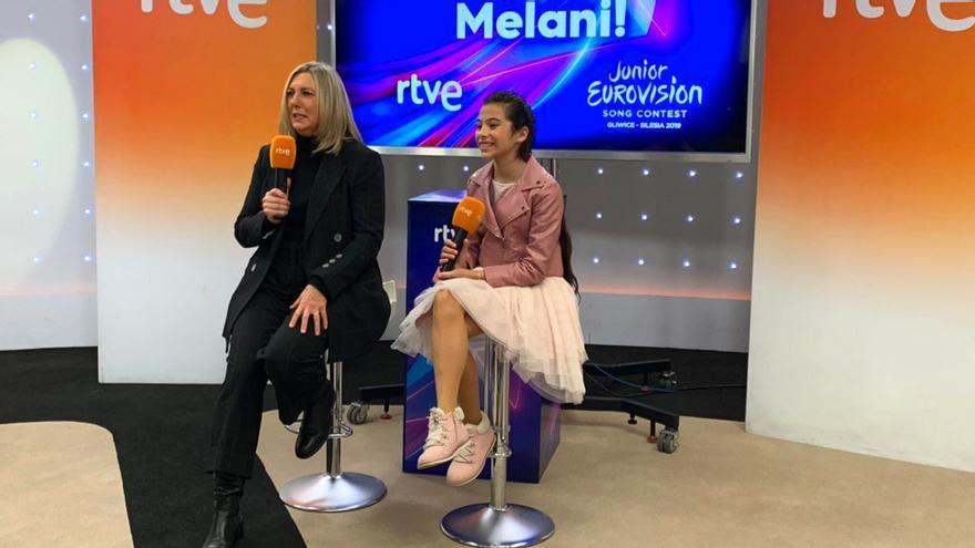 Ana María Bordas y Melani, en TVE