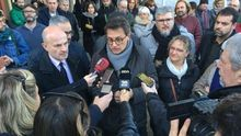 Un concejal de La Jonquera (Girona) comparece ante la Guardia Civil por cortar la AP-7 en octubre