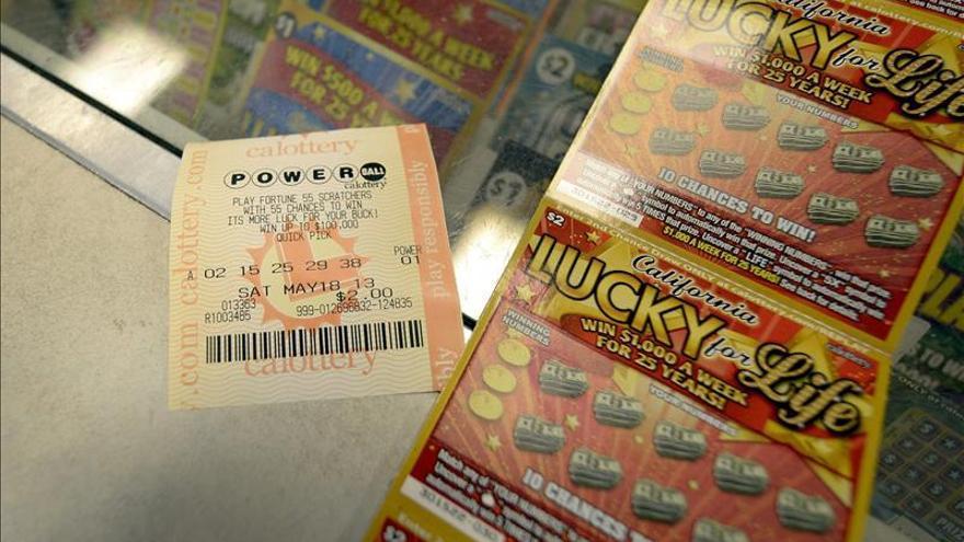 El bote de la lotería Powerball en EE.UU. alcanza los 600 millones de dólares