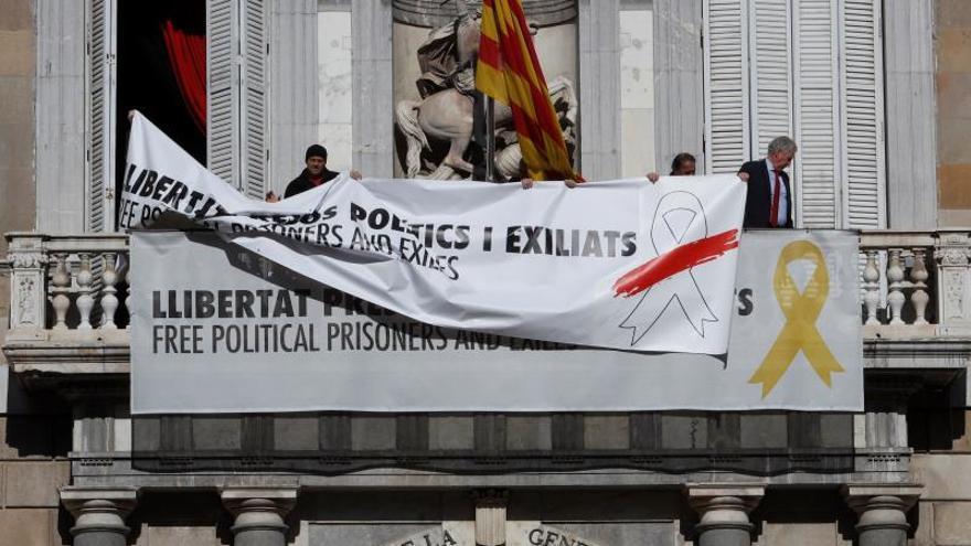 La Junta Electoral analizará si quita ya los nuevos mensajes puestos por Torra