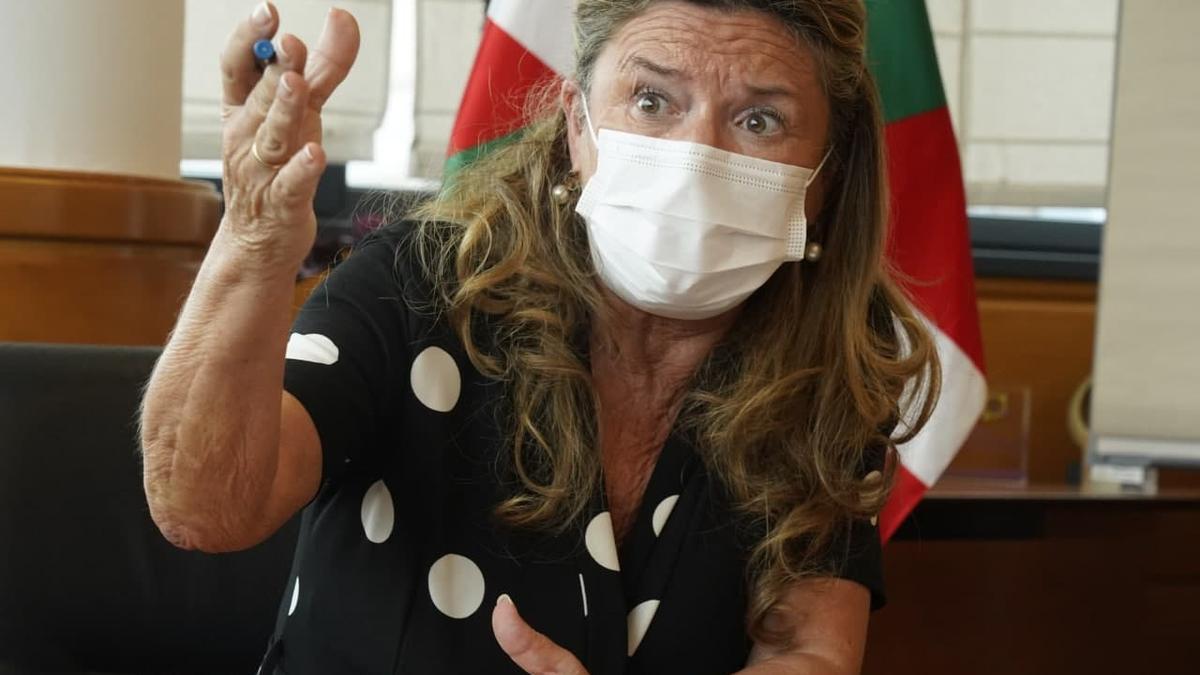 Gotzone Sagardui, consejera de Salud