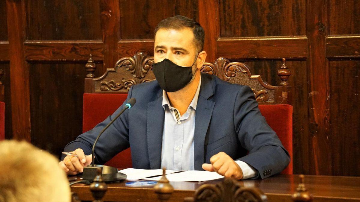 Francisco Montes de Oca, portavoz de Coalición Canaria en el Ayuntamiento de Los Llanos de Aridane.