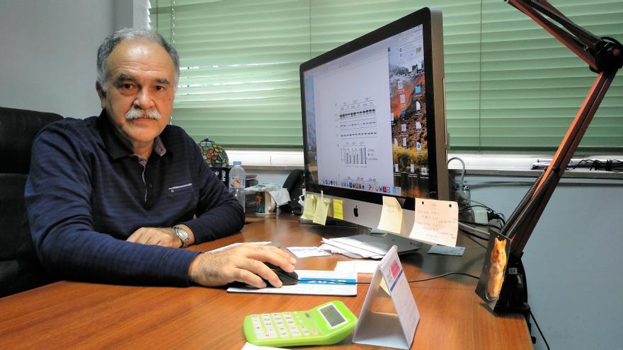 El palmero Tomás González Hernández es especialista en Neurología y catedrático de la Universidad de La Laguna.