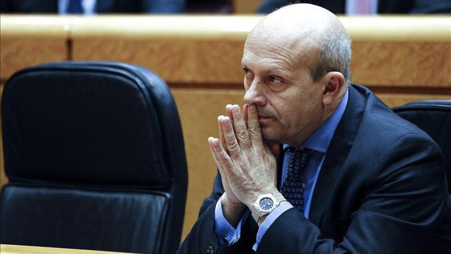 El PSOE pide en el Congreso, por segunda vez, la reprobación de Wert