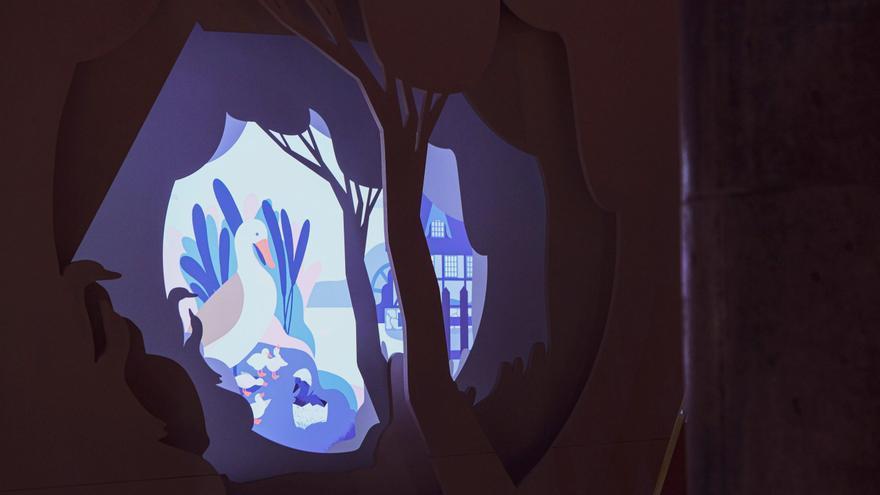 Kuma recrea en un museo sensorial y mágico el universo de Andersen