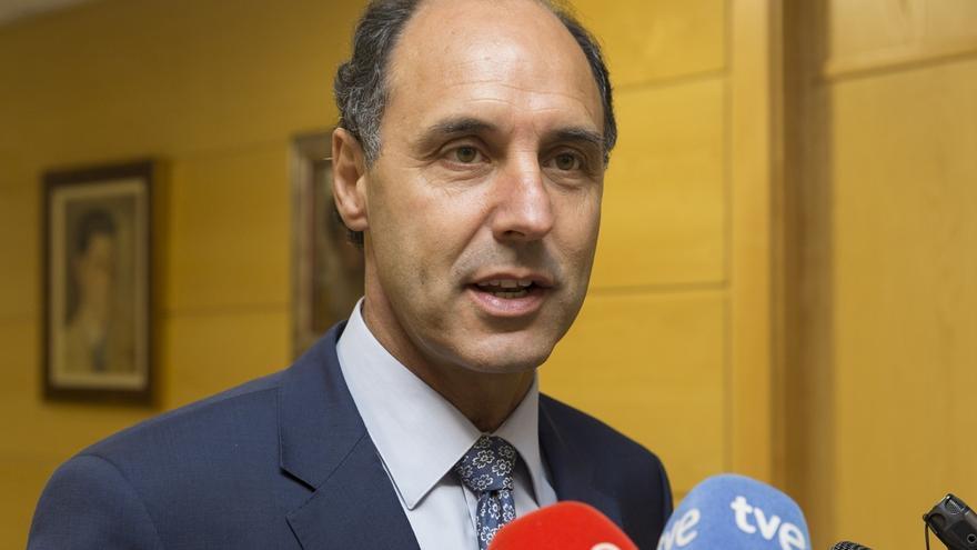 Diego participará este lunes en Madrid en la reunión de la Directiva Nacional del PP