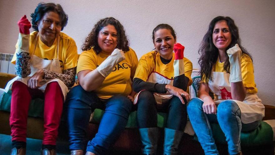 Trabajadoras del hogar activistas de SEDOAC