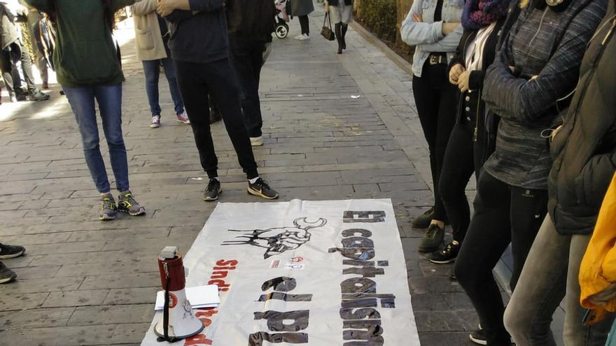 Manifestación contra el cambio climático en Guadalajara