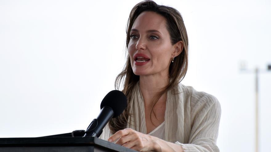 Angelina Jolie pide actuar contra la violencia de género en el Congreso de EE.UU.