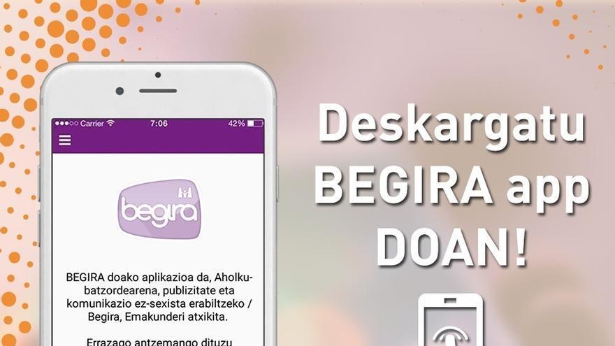 Emakunde pone en marcha una aplicación móvil para denunciar el sexismo en publicidad o comunicación
