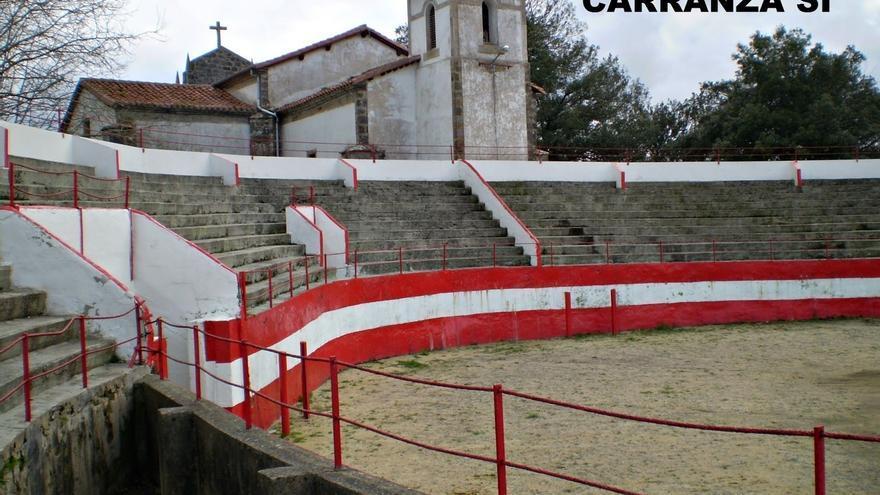 Karrantza decide mantener la tradicional corrida de toros en sus fiestas en consulta popular