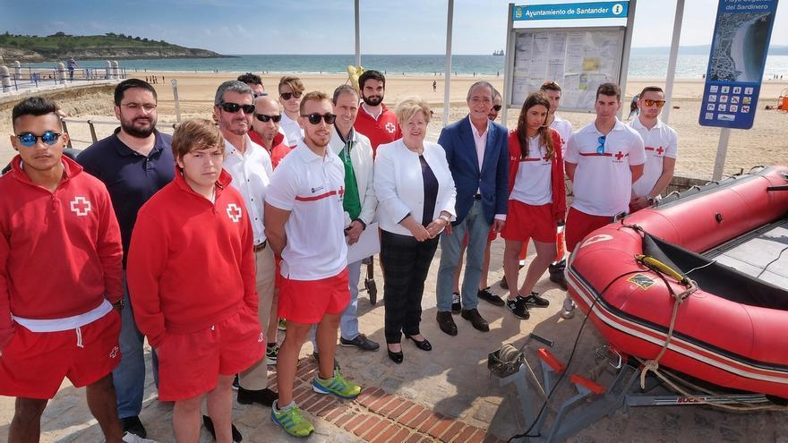 El dispositivo de salvamento en playas realizó 3.360 actuaciones este verano