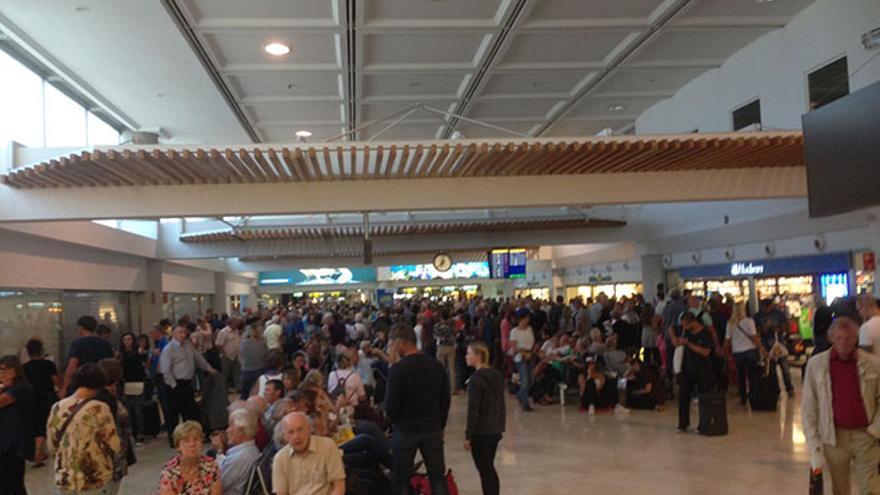 Retrasos en el aeropuerto de Lanzarote