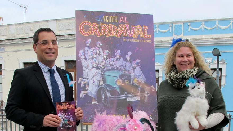 Acto de presentación de los carnavales, este viernes