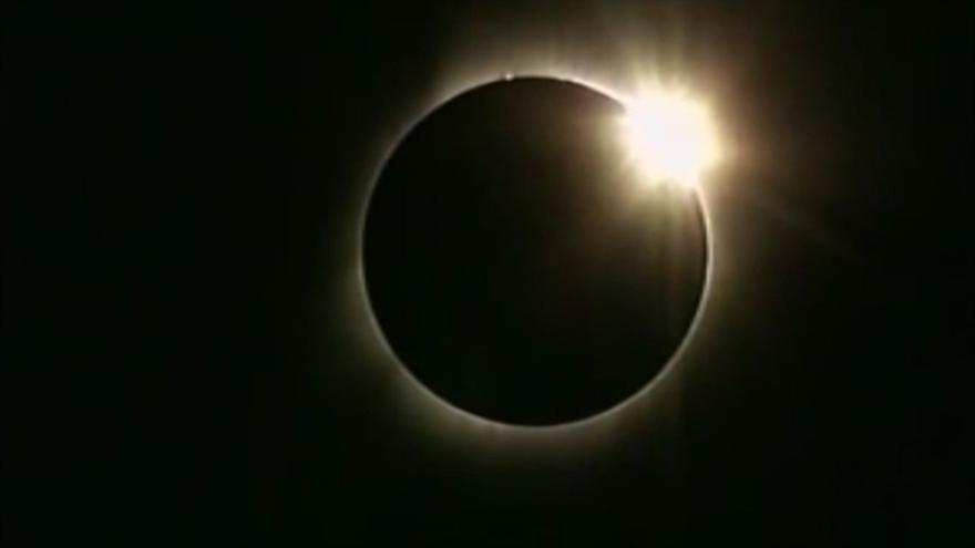 Eclipse solar anular. (Europa Press)