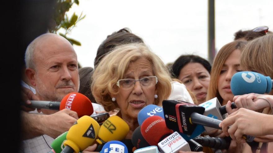"""Carmena ve """"gran afán de escucha"""" en Bankia pero hablarán de sus pisos vacíos cuando llegue a la Alcaldía"""