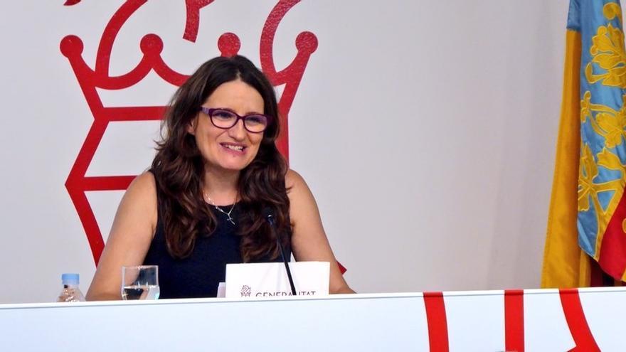 """Oltra valora el diálogo entre Sánchez y Torra, pide que no haya un trato desigual entre territorios"""""""