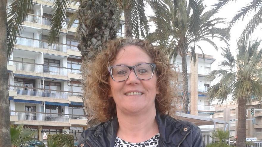 Elia Olgoso, candidata de 'Águilas Puede' a la alcaldía de la localidad murciana