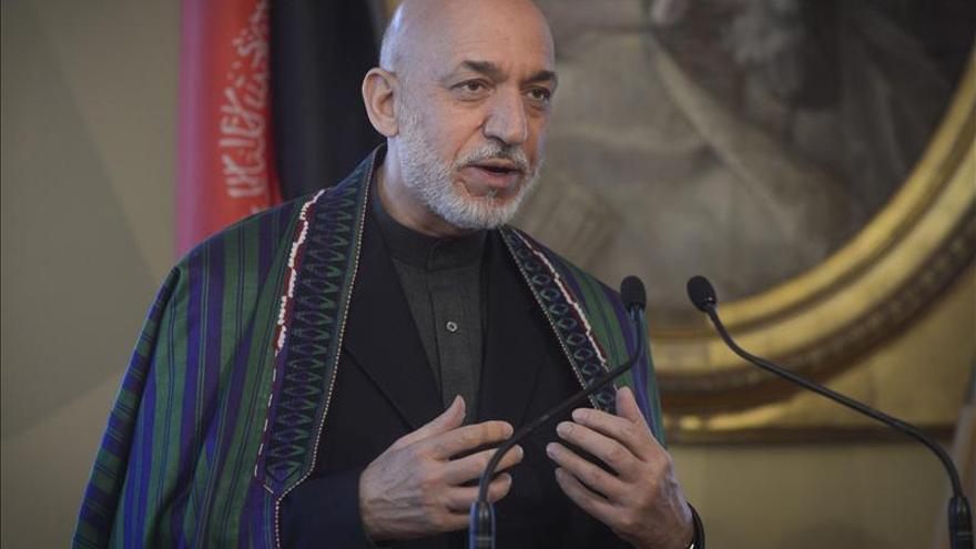Karzai dice que EEUU quiere tener 9 bases militares permanentes en Afganistán