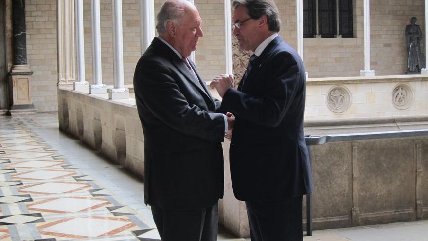 Mas se reúne con el expresidente de Chile Ricardo Lagos