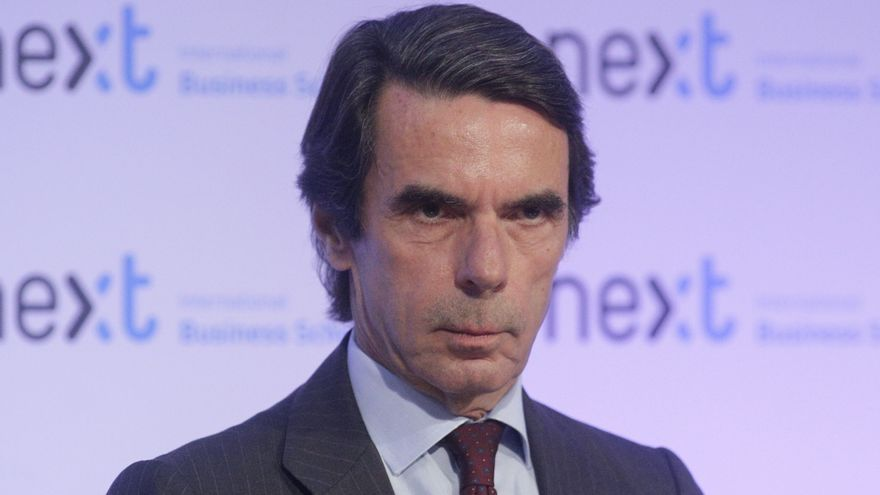 Aznar, este 5 de junio en Madrid.