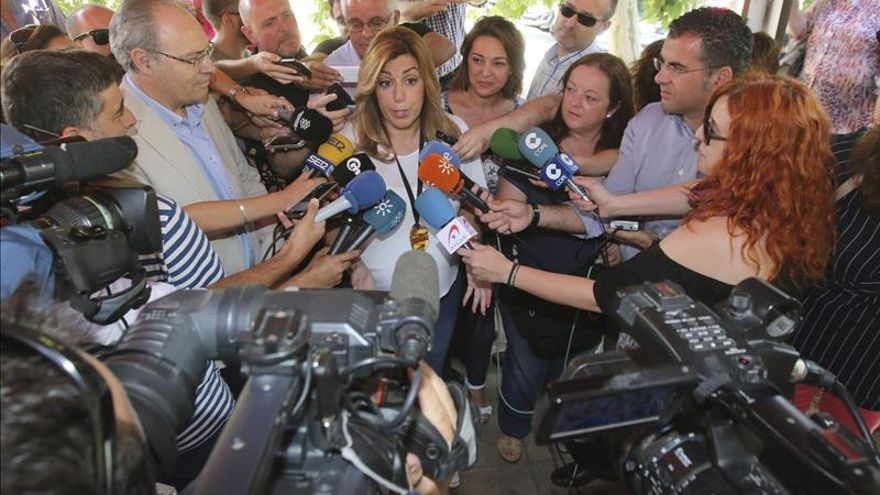 Díaz cree que castigarán al PP por tener a Andalucía dos meses sin gobierno