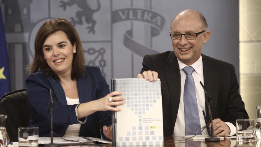 Santamaría avanza este miércoles los primeros datos sobre la aplicación de la reforma de las administraciones públicas