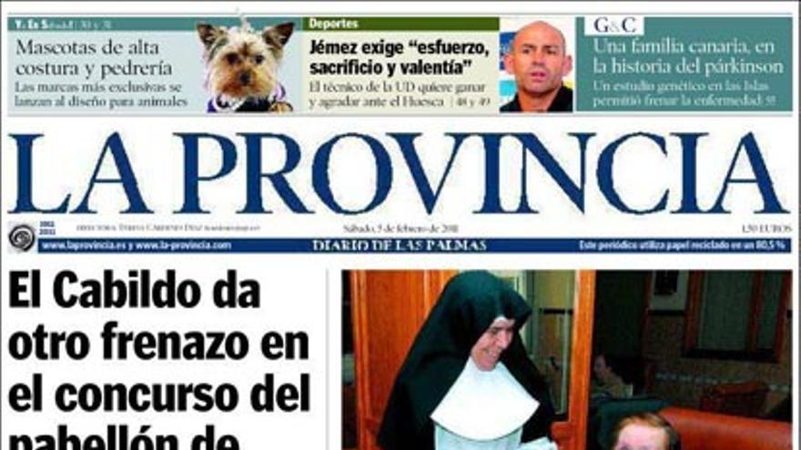 De las portadas del día (05/02/2011) #8