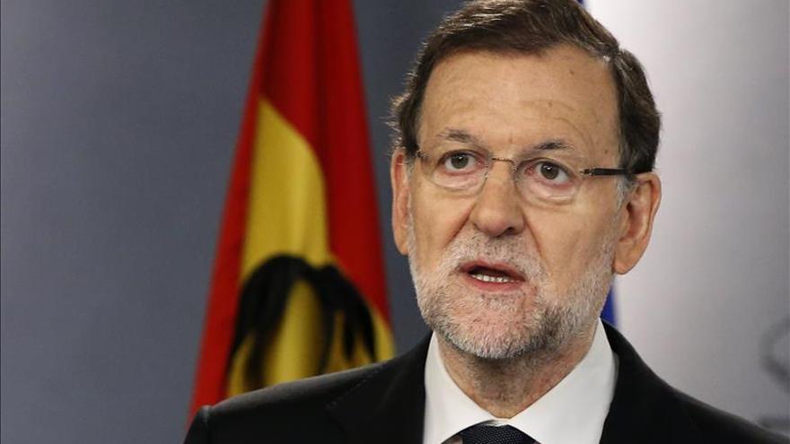 Rajoy ratifica que no renunciará a nada para defender la unidad de España