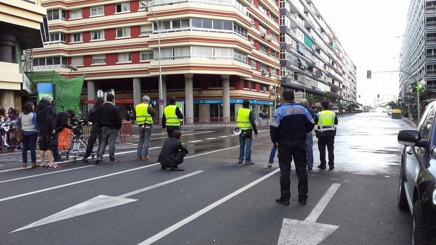 Rodaje de 'Cien años de perdón' en Las Palmas de Gran Canaria | Carmen Mesa