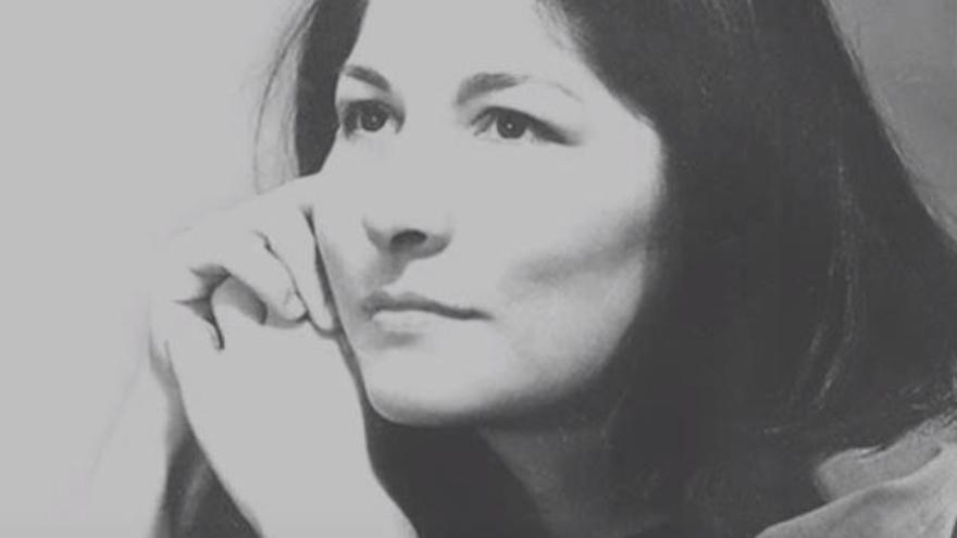 Mercedes Sosa, la cantante de música folclórica argentina.