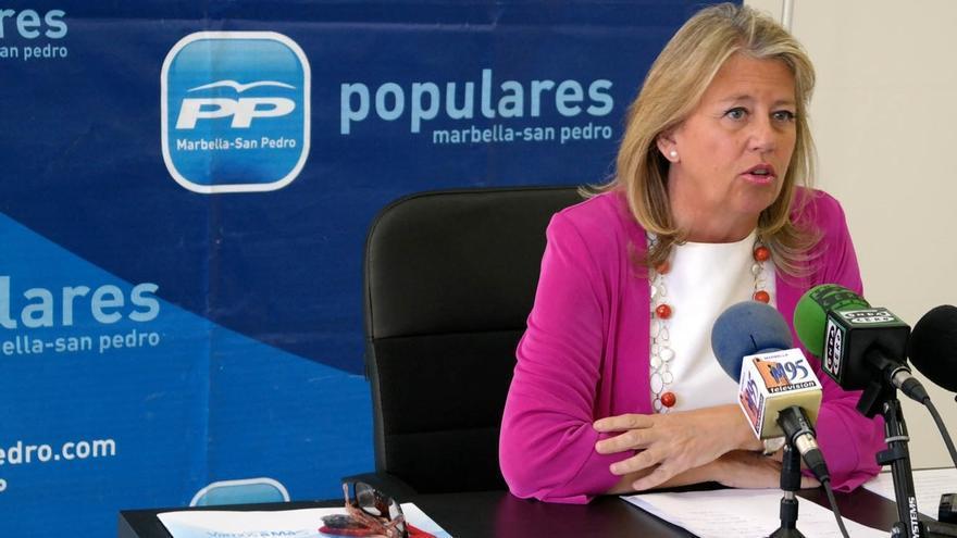 """Ángeles Muñoz defiende que el PP es el único que no ha hecho """"cambalaches"""" con los votos de las elecciones"""
