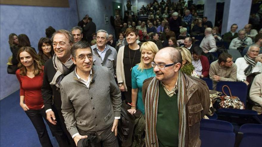 Patxi López, convencido de que con trabajo recuperarán la confianza ciudadana