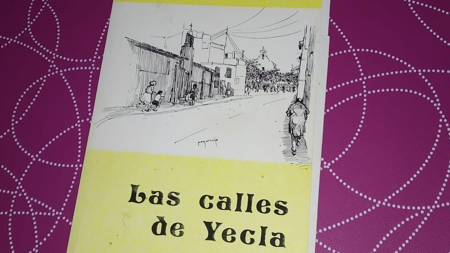 'Las calles de Yecla' de Miguel Ortuño
