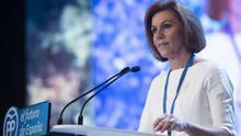 Cospedal anuncia que deja la presidencia del PP de Castilla-La Mancha