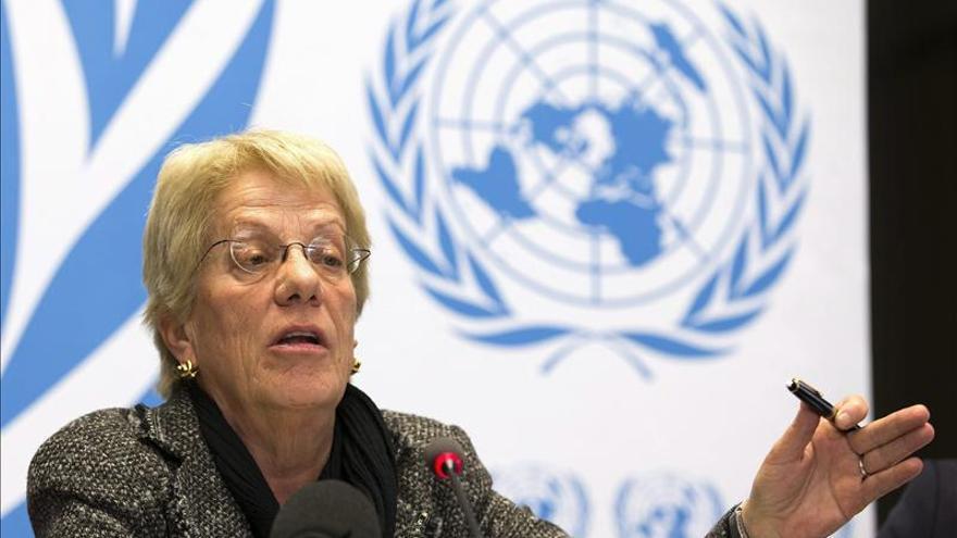 Rebeldes sirios pueden haber usado armas químicas, según Carla del Ponte