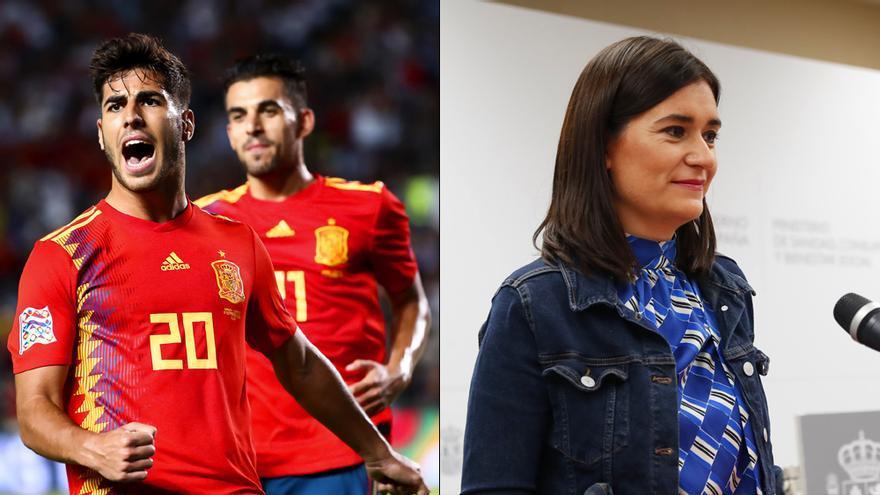 España-Croacia / Carmen Montón