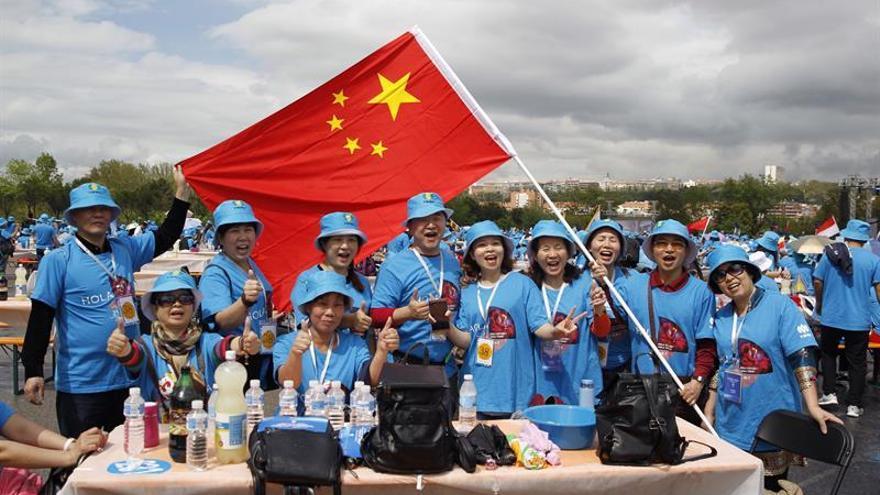 Los directivos chinos de Tiens se interesan por El Quijote y la Universidad