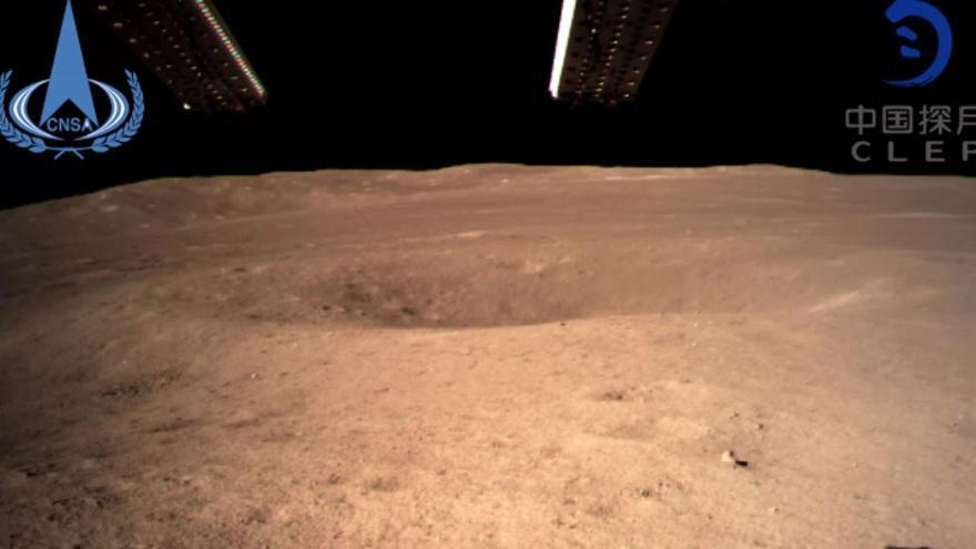 La Chang'e 4, la cara oculta de la luna y los brotes que solo vivieron dos días en el espacio