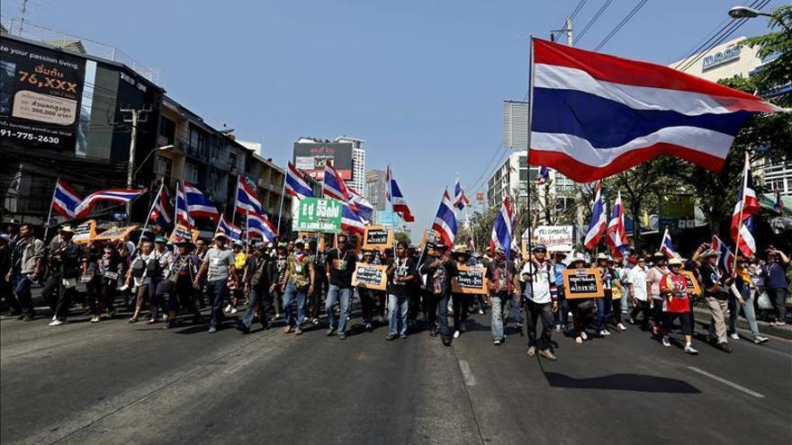 Tailandia se prepara para las elecciones, pese al boicot de los manifestantes