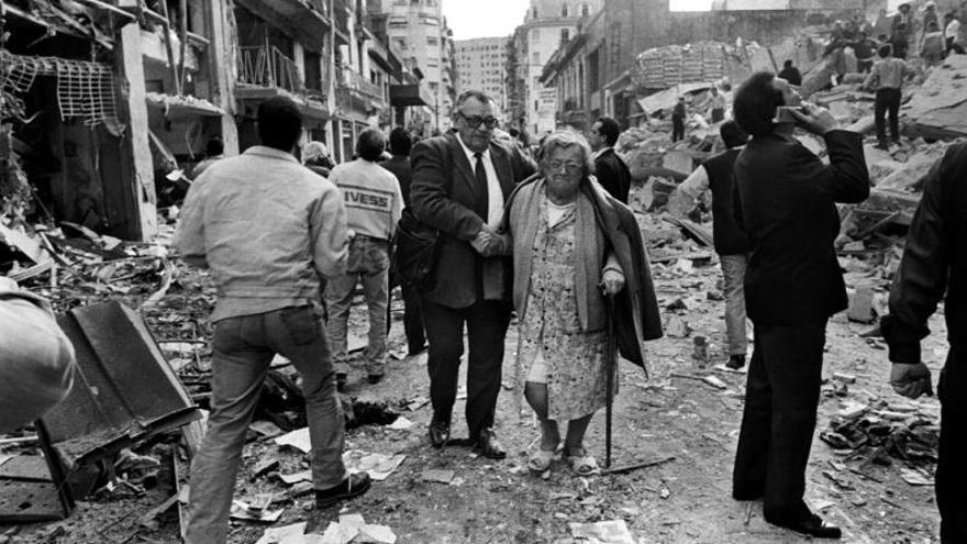Una muestra fotográfica llevará a EE.UU. y Francia el atentado en Argentina de 1994