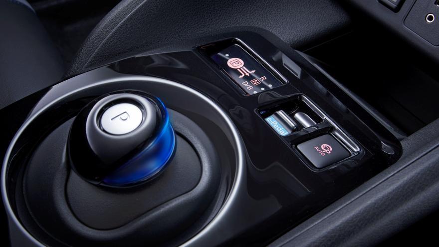 Con la tecnología e-Pedal, el e-Pedal se conduce y frena sin interrupciones con un solo pedal.