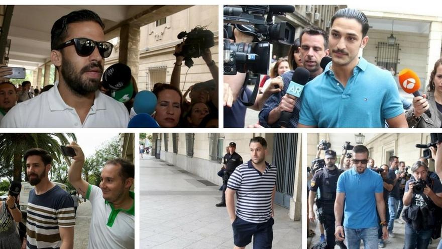 El abogado de la víctima de La Manada pedirá también el ingreso en prisión de los cinco condenados