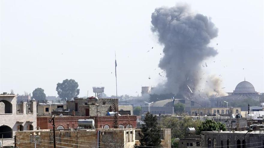 Imagen de archivo de un ataque aéreo en Somalia.