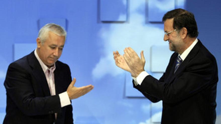 Arenas y Rajoy