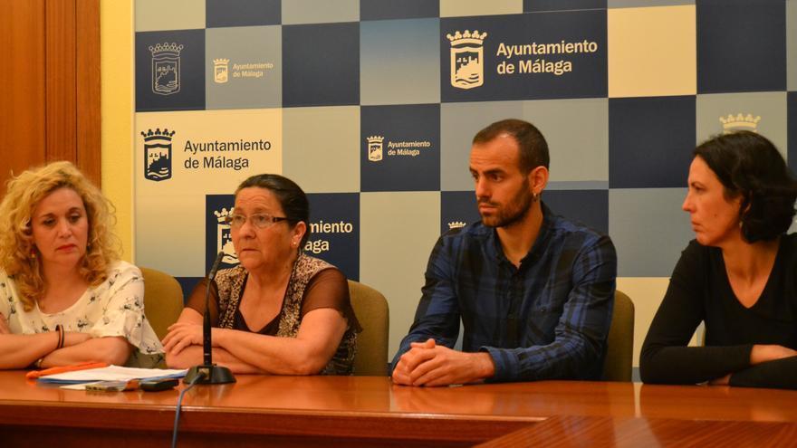 Margarita Toledo, segunda por la izquierda, en rueda de prensa | N.C.