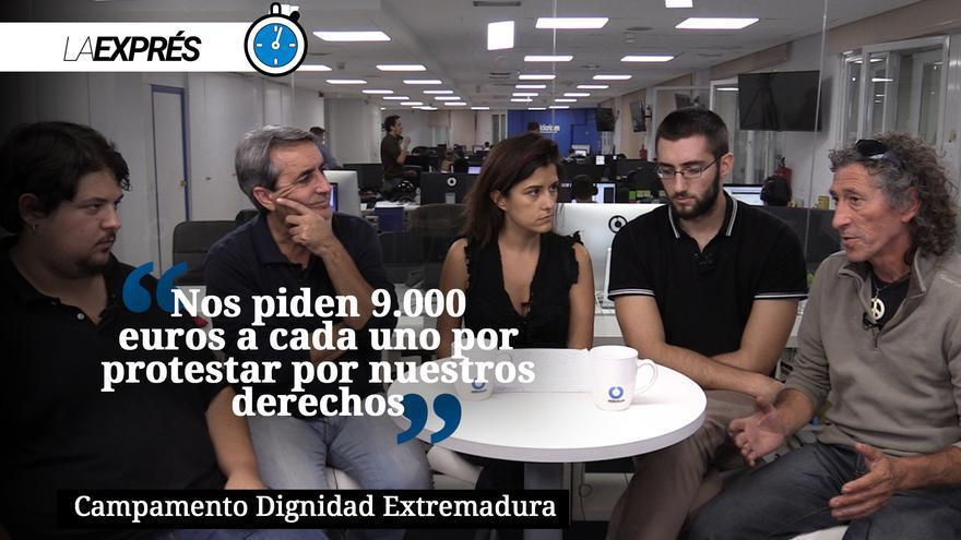 Campamento Dignidad Extremadura
